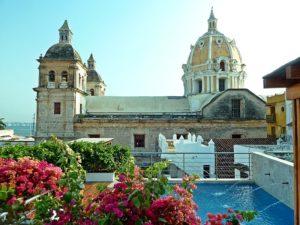 Cathedral San Pedro Claver Dome Cartagena