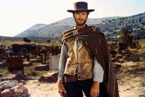 clint eastwood cowboy poncho